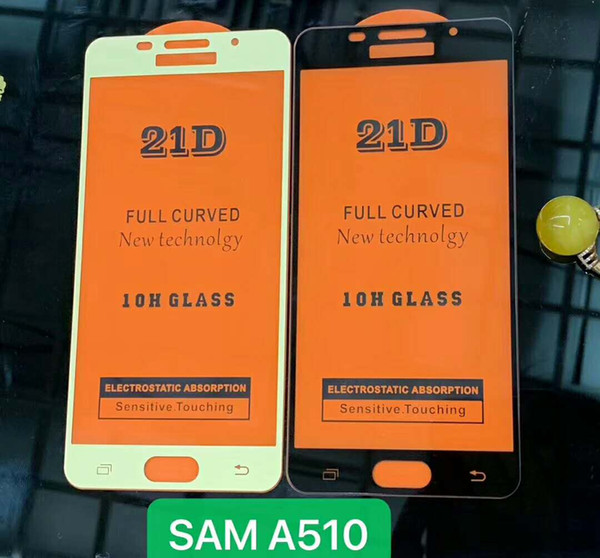 60pcs/lot 21D 10H Full Coverage Tempered Glass Protective Film For Samsung Galaxy A10 A20 A30 A40 A50 A60 A70 A80 A90 M10 M20 M30 A40S