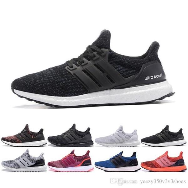 newest collection b0dae 72f09 Ultra 3.0 4.0 Triple Black Ub White Primeknit Oreo CNY Blue Grey Men Women  Shoes Ultraboost Sport Sneaker 36 45 Best Shoes Italian Shoes From ...