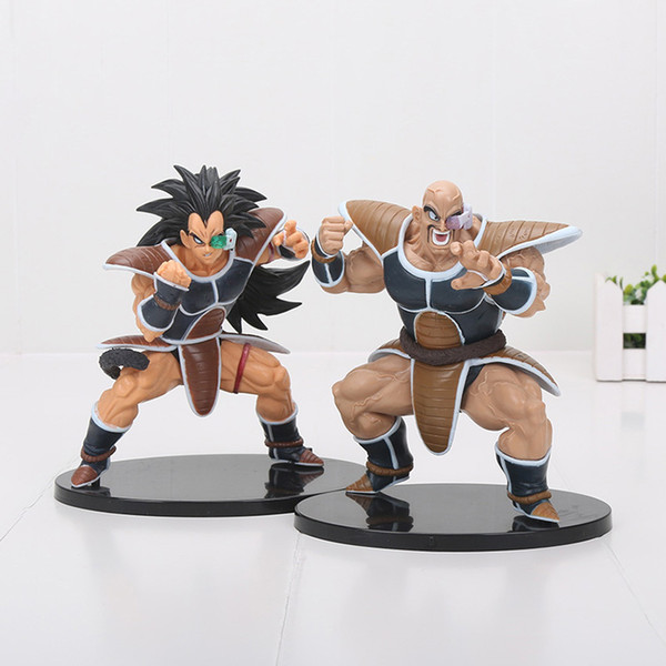 Dragon Ball Z figure Super Saiyan Son Goku Raditz Radish Kakarotto anime figurine 15CM PVC Action Figure Model toy Kids Gift Y190529