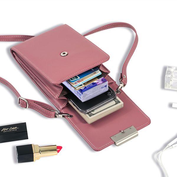 New universal mobile phone case wallet phonce case summer Korean version of the Messenger bag mini shoulder fashion small female bag trend