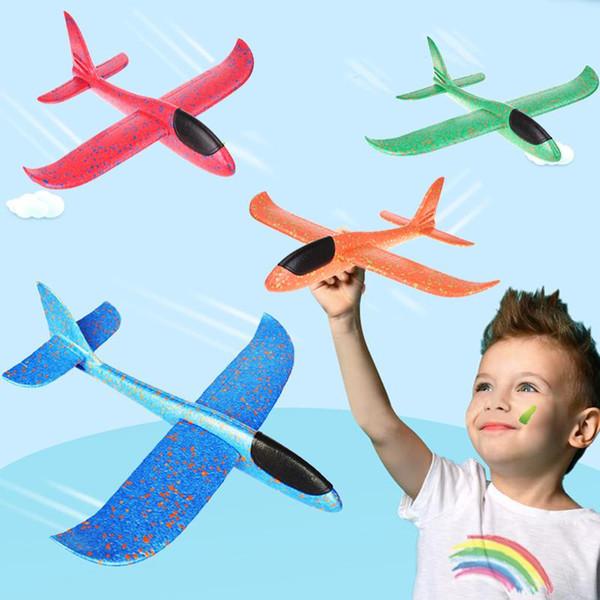 48см Ручной запуск метательный планер EPP пены Самолет Модель Летучий планер самолета игрушка Дети Открытый свежевание планера Игрушки Plane