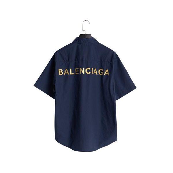2019 außenhandel herrenhemden retro designer casual bluse revers einfarbig komfort atem frühling campus beliebte logo brief druck tops
