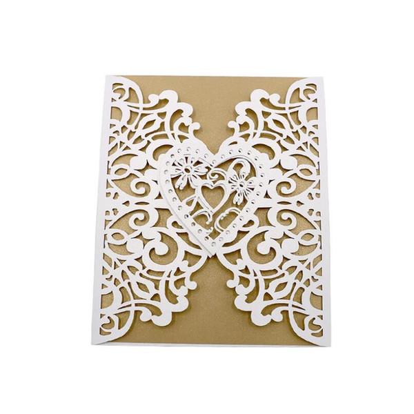 Acquista Biglietti D Auguri Matrimonio Americano Ed Europeo Hollow Out Inviti Matrimonio Decorazioni Carte Con Busta Lx6606 A 384 13 Dal Isaaco