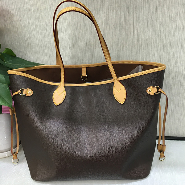 designer handbags 2019 classical hot sale style Naverfull genuine cow high leather top quality luxury tote clutch shoulder shopping bag