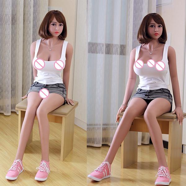 Réel Silicone Sex Dolls Soft Seins Japonais Vagin Anus Oral Love Doll pour Hommes Réaliste Adulte Chatte Sexy Jouet