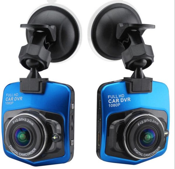 1080P LCD HD Car DVR Camera IR Night Vision Video mini auto car dvr camera dvrs full hd recorder video camcorder KKA6867