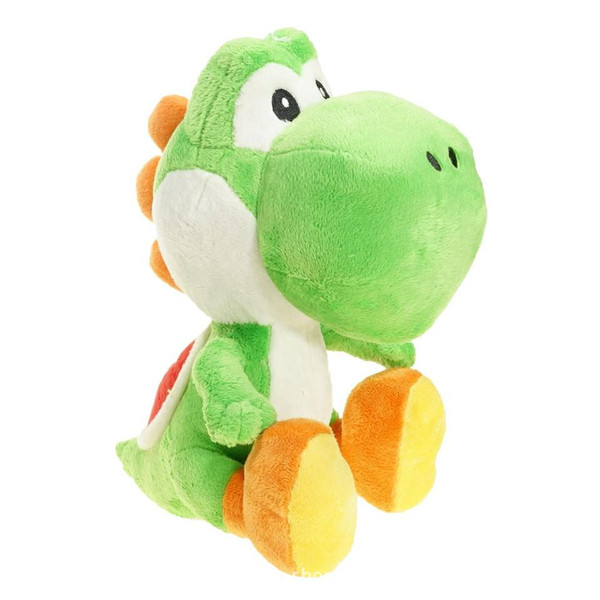 Super Mario Bros Yoshi Plush Toys Dolls 6inch 17cm Kids Collectible Dinosaur Soft Stuffed Toy Doll Cartoon Game Toys for Children Gifts