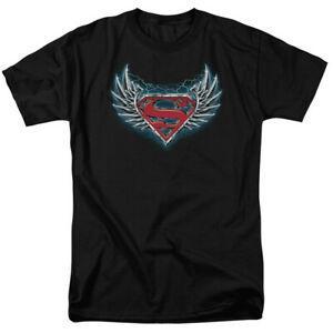 Shirt Aço Símbolo voa a camisa Comics Licenciado Adulto Camiseta