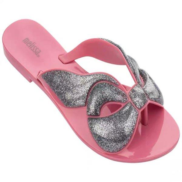 Melissa Harmonic 2019 Yeni kabuk Kadın Flip Flop sandalet Marka kadın Jöle Ayakkabı Melissa terlik Kadın Jöle Ayakkabı