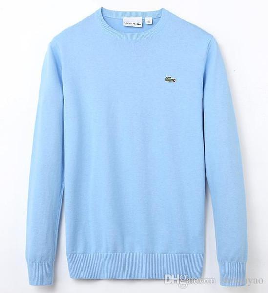 2019 весна осень новый высококачественный бренд мужской свитер свитер вязать хлопок свитер джемпер свитер мужские свитера