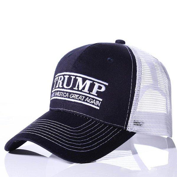 Donald Trump 2020 Cap Femmes Hommes Mesh Casquettes De Baseball Été Make America Grand Snapback Sport Casquette De Visière