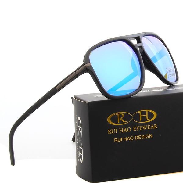 Солнцезащитные Очки Мужчины 2019 Ретро Досуг Солнцезащитные Очки Мода Вождения Очки Открытый Желтый Ночного Видения