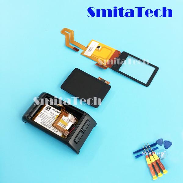 per il display LCD digitalizzatore Garmin VivoActive HR GPS Smartwatch, touch screen capacitivo, caso della copertura posteriore con la batteria agli ioni di litio