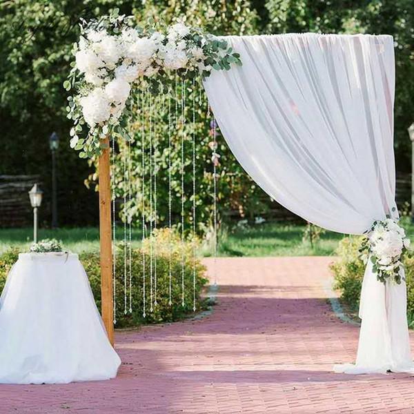 Diy Wedding Arch.2019 Custom Diy Wedding Arch Backdrop Decor Road Lead Flower Row Artificial Silk Flower Wall Arch Decor For Party Hotel Ceremony Wall From