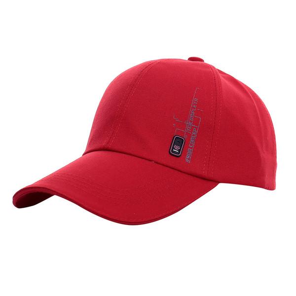 Lettre Chapeau Brodé Casquette De Baseball De Mode Chapeaux Pour Les Femmes Casquette Pour Le Choix En Plein Air Golf Sun Hat Plat Garçon Casquettes 3