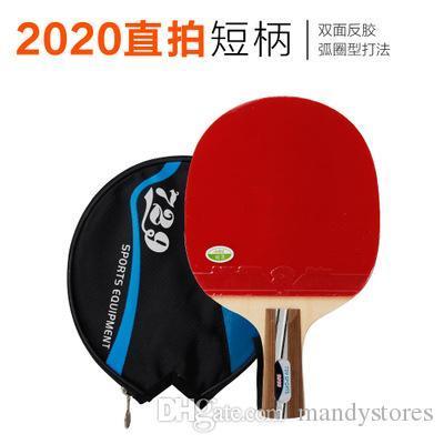 Gros-RMCT 729 Amitié 2020 # Pips-Dans le tableau Tennis Racket avec étui pour PingPong