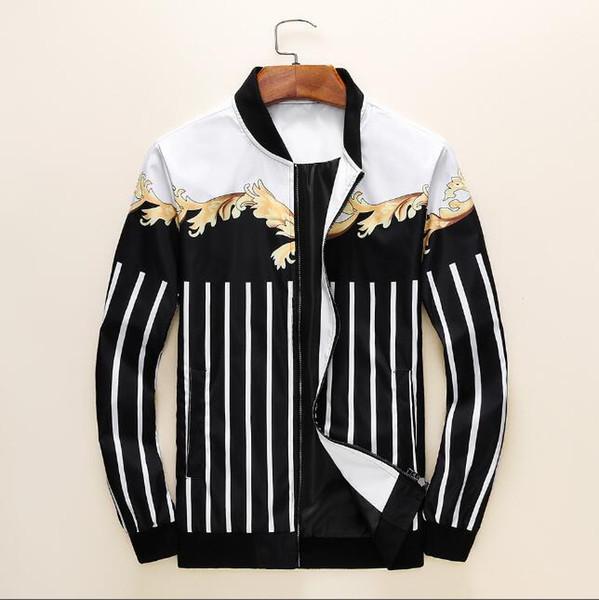 2019 Nueva moda de lujo para hombre chaquetas abrigo nuevo diseñador chaqueta con capucha con letras rompevientos cremallera con capucha para hombres Sportwear Tops ropa