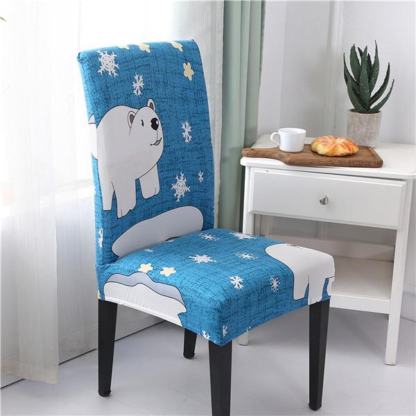 Universal Chair Cover Hotel Household Anti-fouling Chair Piece Elastic Chair Cover Office Computer Seat Cover