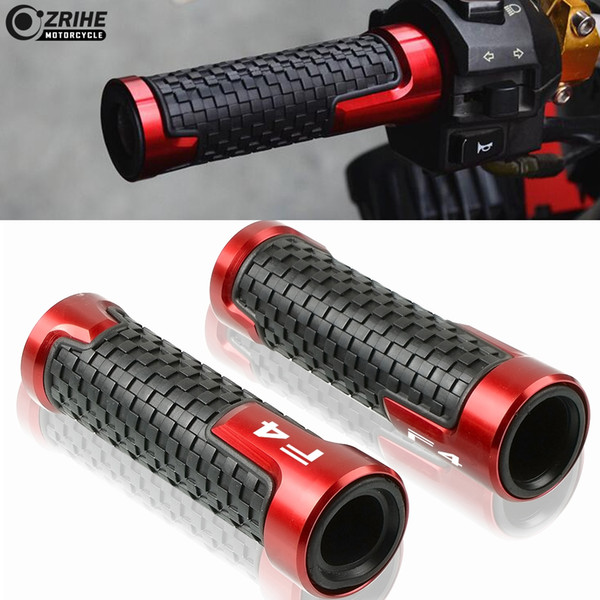 best selling Motorcycle HandleBar Grips CNC Aluminium Non-Slip 7 8 22mm Handle Bars For MV Agusta F4 1000 04-07 F4750 98-03 F4 RR F4 RC 11-16