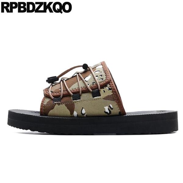 slip on flat slides platform beach slippers mens sandals 2019 summer outdoor shoes water  waterproof soft designer