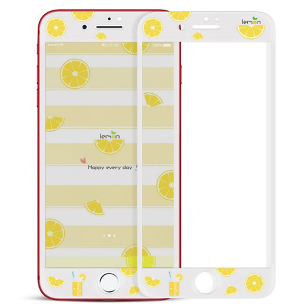 360 Full Phone Screen Protector For iPhone 7 Plus 8 Plus Cartoon 3D Curved Edge Full Cover Protectors