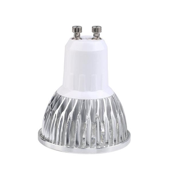 4W Silver Shell Super bright GU10 light bulb dimmable LED Lamp Bulb Spotlight White Light Lamp for Car Decorative Hot