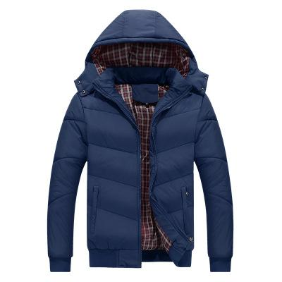 plus size cotton clothing autumn and winter hooded thick rafters factory direct sales explosion-proof middleaged and elderly men