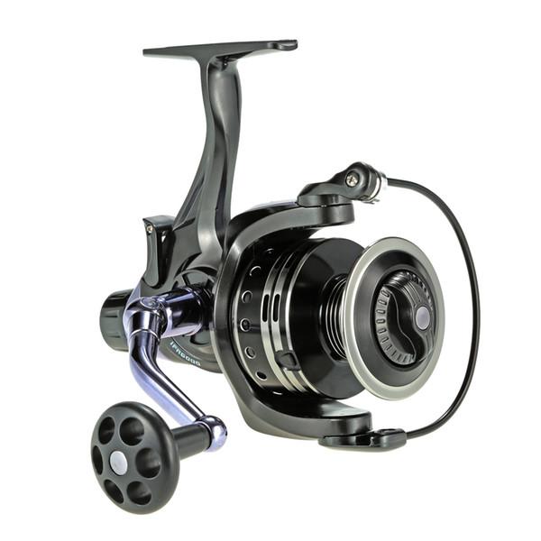 COONOR 11+1BB Ball Bearings Spinning Reel Saltwater 5.9:1 Fishing Reel Dual Brake High Strength Wheel Carp Fishing Tackle