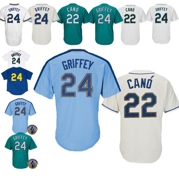 best loved 73695 98b10 2019 New 2019 Seattle Mariners Jerseys 22 Robinson Cano Jerseys Baseball  Jerseys Are On Sale Seattle Mariners From Dada_da, $21.09   DHgate.Com