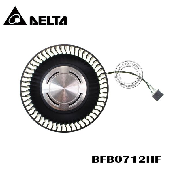 Fans & Cooling Free Shipping BFB0712HF 65mm 12V 1.8A For NVIDIA GTX Titan GTX980 980Ti Graphics Card Cooling Fan 4Pin 4Wire