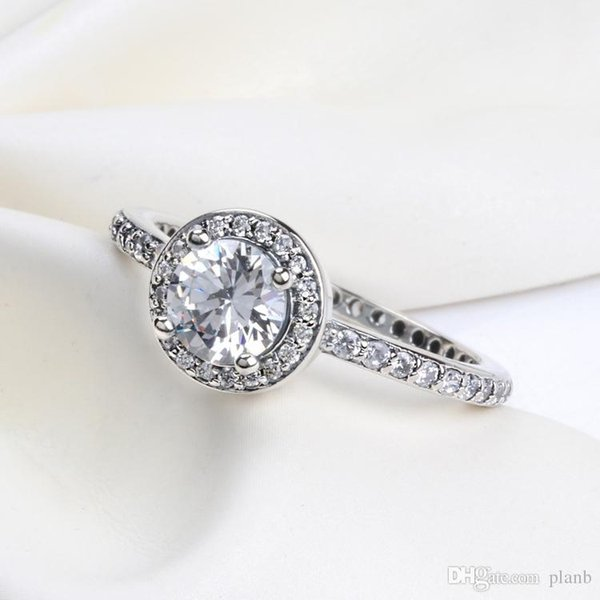 2019 Romantic Cute Ring With Original Box For Pandora Charms