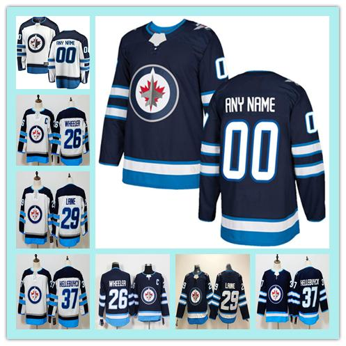 Custom MEN WOMEN KIDS any name number 55 Mark Scheifele 33 Dustin Hoodies Jersey