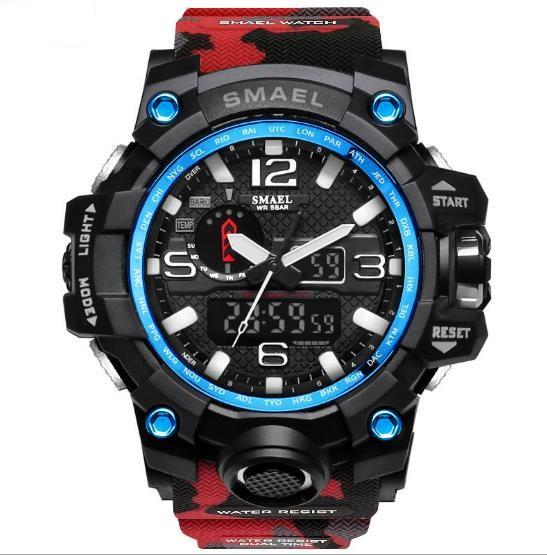 Newest SMAEL Brand Watch Men Wateproof S Shock Sport Watches LED Digital Clock Male Clock Military Army Wristwatch