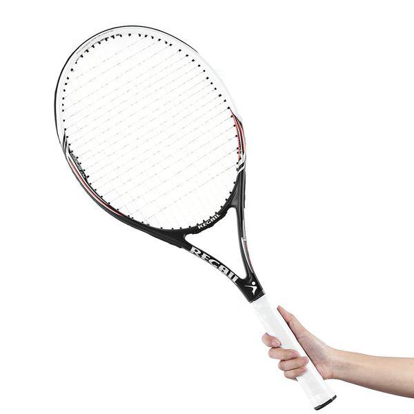 Raquettes de tennis entraînement de compétition de tennis en alliage d'aluminium de carbone Racket Racket Racquets Equipé Sac