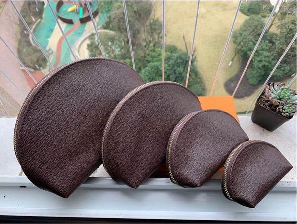 top popular 2020 fashion Women cosmetic bags organizer famous makeup bag travel pouch make up bag ladies cluch purses organizador toiletry bag 4pcs set 2021