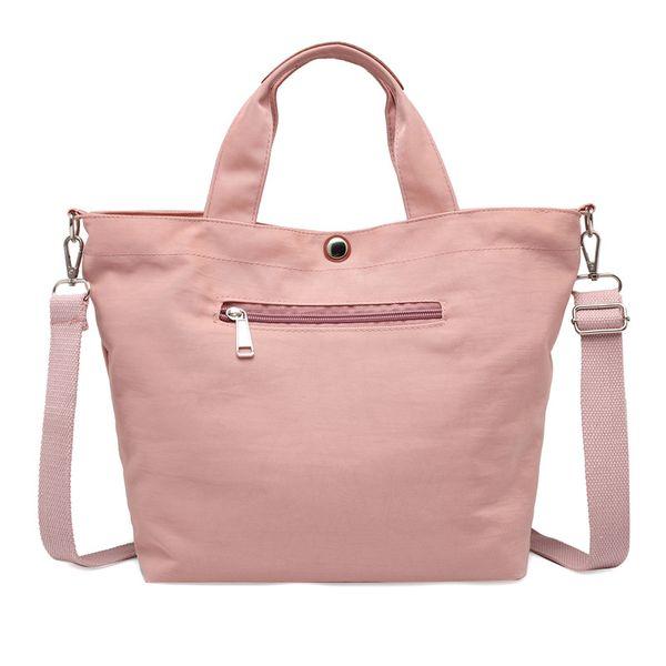 Waterproof Bolsas Black Women Handbag Casual Large Shoulder Bag Nylon Tote Famous Brand Purple Handbags Mummy Diaper Bags