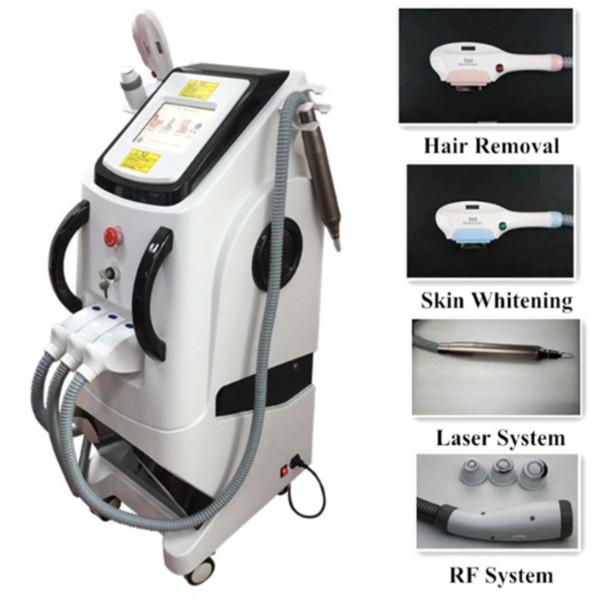 2019 il più nuovo 360 Magneto ottico 4 in 1 multifunzione IPL Shr macchina di rimozione con 755nm picosure laser tatuaggio rimozione RF macchina