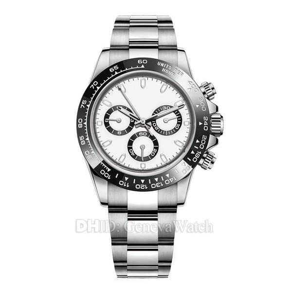 Luxus Herrenuhren 116500LN Designeruhr Montre De Luxe Automatische Armbanduhren Keramik Lünette 316L Stahl Einstellbare Faltschließe 19 Farbe