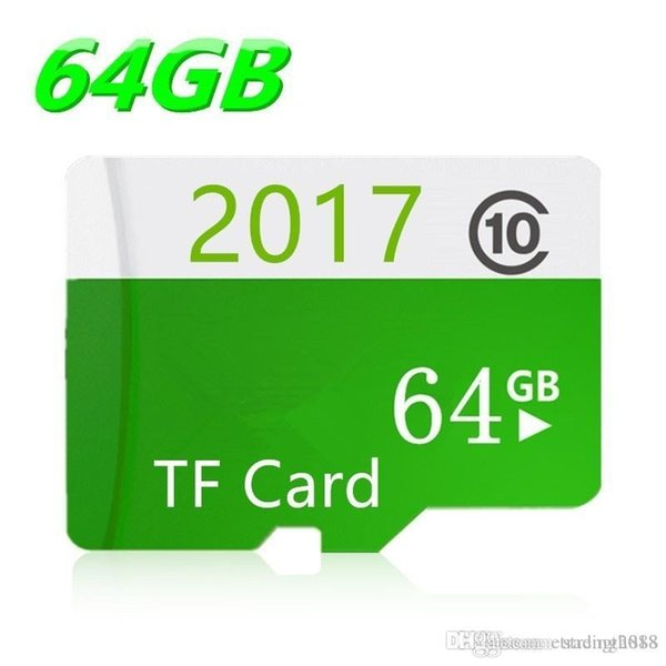 Real Capacity Hot Sale High Speed TF Cards Class 10 SDHC Micro Sd Card +Gifts 16GB 32GB 64GB 128GB Memory Card for Phone/Tablet/Camera