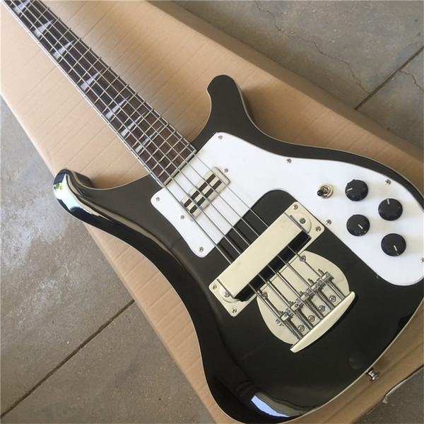 best selling Free shippingIn stock Ricken-bucker electric bass guitar black color 4001 style