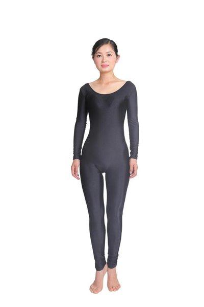 Women Long Sleeve Dance Ballet Gymnastics Unitard Custom Skin Suits Full Body Dancewear Costumes Spandex Lycra Nylon