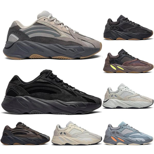 With Socks Wave Runner Mauve Inertia Analog vanta Tephr Running Shoes Kanye West Designer Shoes Men Women 700 V2 Static Sports Seankers