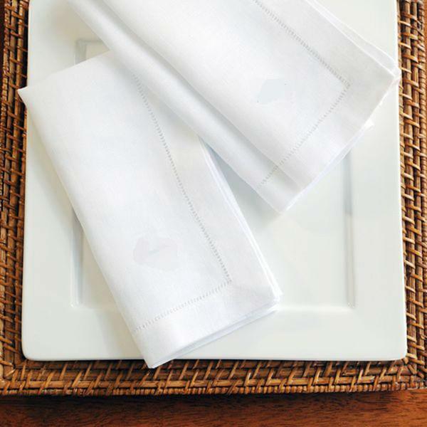 Serviette De Cocktail Blanc Serviettes À Poser Pour Serviette De Table De Mariage En Coton Serviettes 45x45cm Et 30x50cm