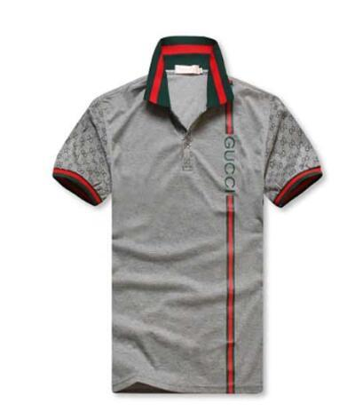 2019 Gucci New Polo Shirt Men Short Sleeve Casual Shirts Spring Luxury Tee  Mens T Shirt Designer Polo Shirts New Embroidery Tiger Print9588 From