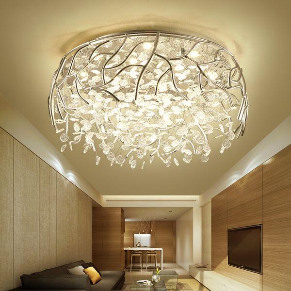 Großhandel Moderne LED Kristall Kronleuchter Decke Nordic Lampen Homedeko  Beleuchtung Lampen Schlafzimmer Leuchten Raumhängeleuchten Wohn Von  Jess567, ...