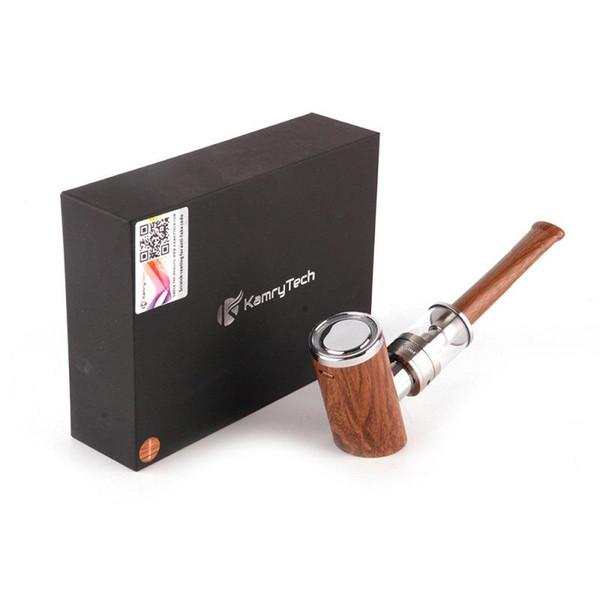 Оригинальный Kamry K1000 Plus E Pipe Kit электронный кальян ручка 1000mAh с 4 мл K1000 плюс распылитель epipe деревянный дизайн пара E-сигареты Vape