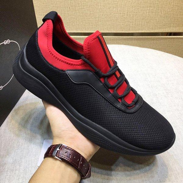 Модные классические кроссовки из сетки и неопрена мужская обувь Новое поступление на шнуровке Удобные дышащие роскошные повседневные туфли Zapatos de hombre
