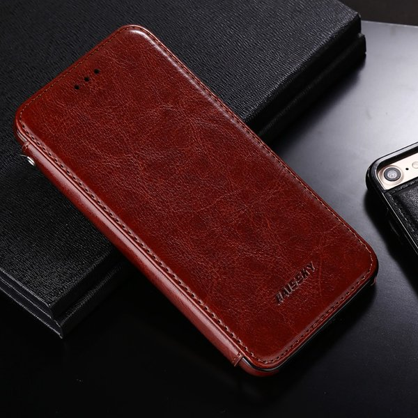 all'ingrosso Custodia magnetica per iPhone 7 8 Plus Custodia in pelle di lusso Portafoglio Flip Cover Fundas Coque per iPhone 7 8 Accessori del telefono