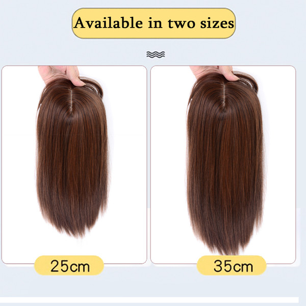 2019 Straight Hair Natural Fluffy Invisible Replacement 3d Forehead Bangs Frontal Closure Synthetic Hair Extensions