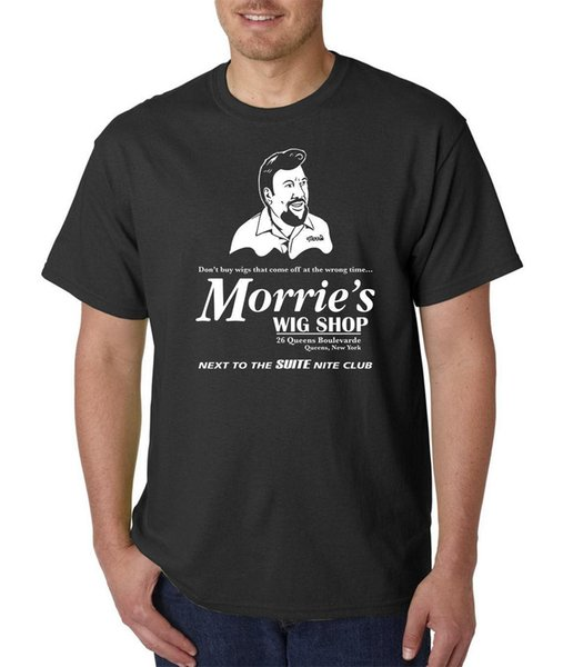Morrie's Wig Shop T-Shirt - GOODFELLAS The Godfather Scarface Casino Funny Mafia Mens 100% Cotton Plus Size T Shirt